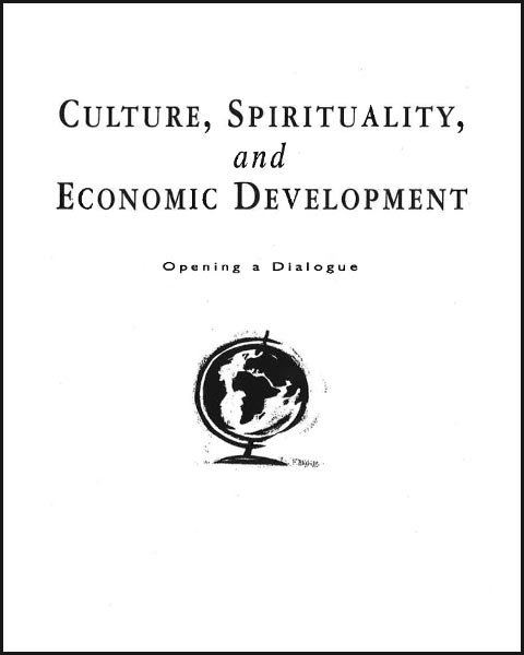 Culture, Spirituality, and Economic Development Image