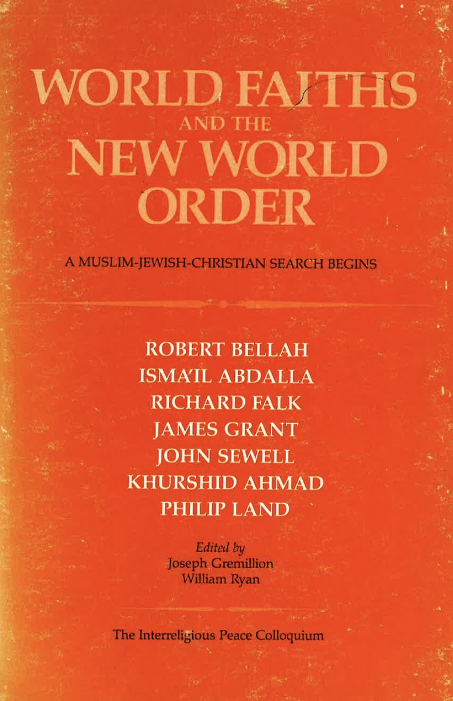 World Faiths and the New World Order Image