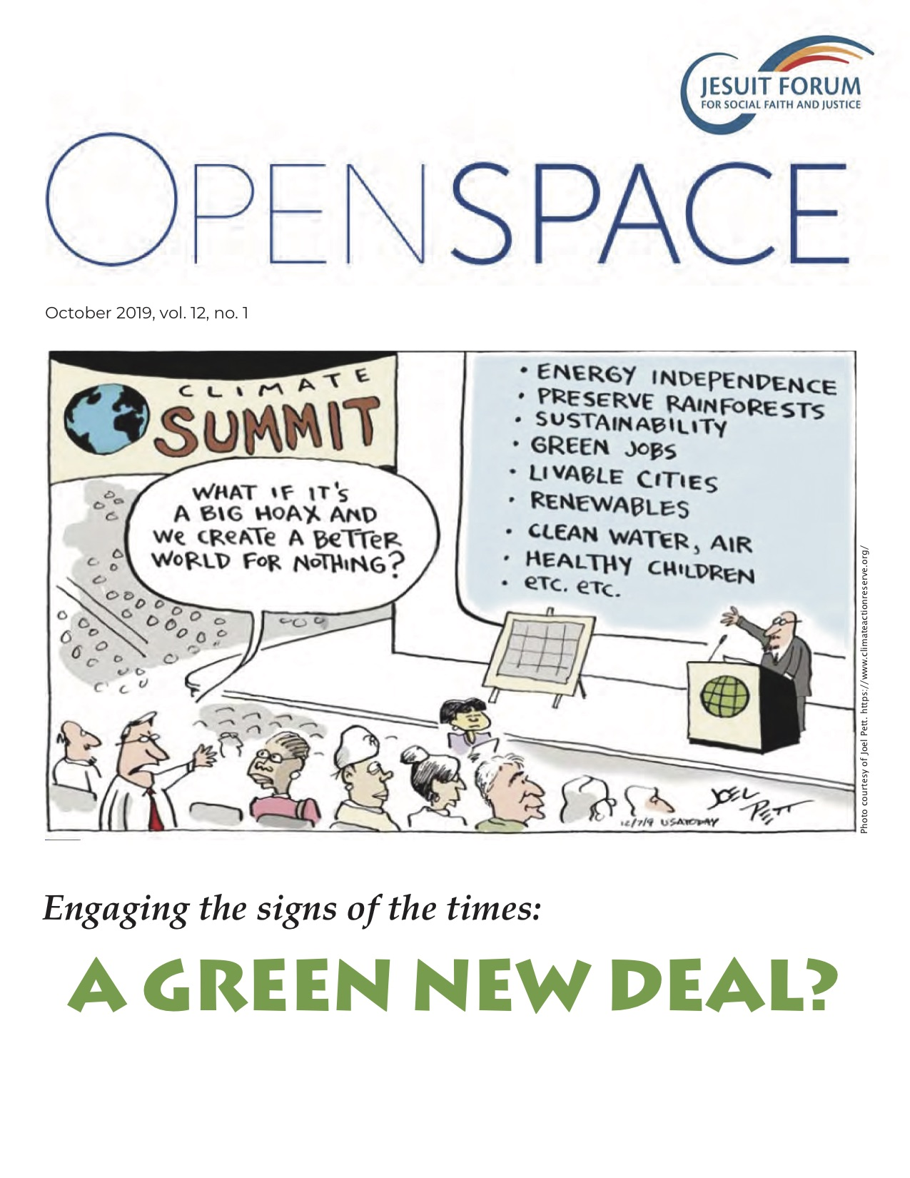 A Green New Deal? Image